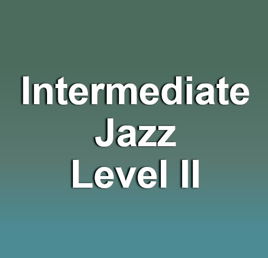 Dance: Intermediate Jazz: Level II Fall 2019