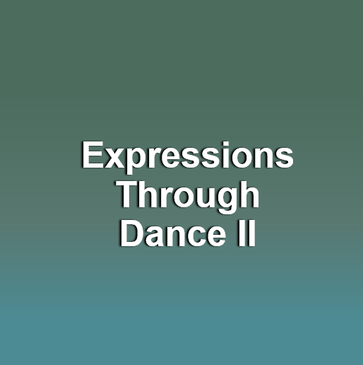 Expression through Dance II (Children ages 9-15 with cognitive & sensory needs)