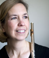Flute Lesson with Lisa Wolynec